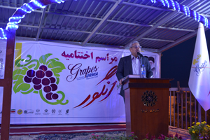 Finishing 4th Grape festival in Urmia