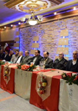 The birth of Jesus Christ ceremony with the presence of Mayor of Urmia